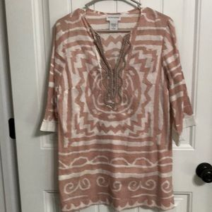 Soft Surrounding Tunic Nwots PS